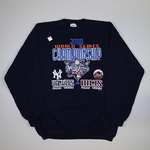 Vintage 'MLB World Series 2000' Navy Sweater
