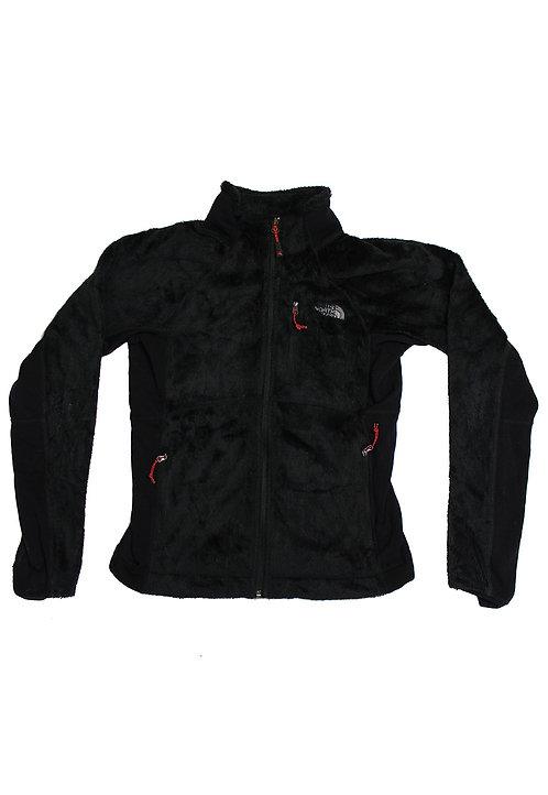 North Face Black Zip-Up Fleece