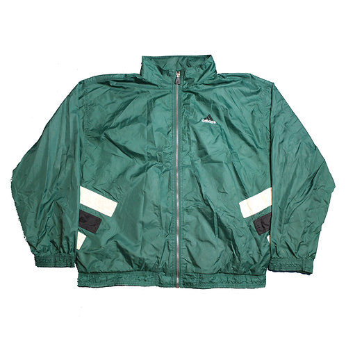Adidas Green Tracksuit Top