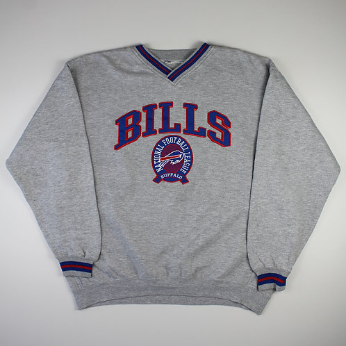 Vintage 'Buffalo Bills' Grey Sweatshirt