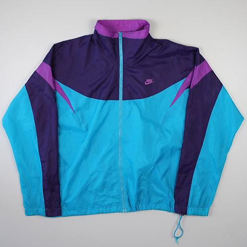 Nike Blue & Purple Tracksuit Top