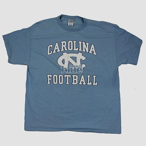 Vintage Blue 'Carolina Football' T-Shirt