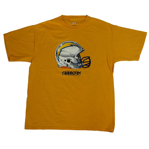 NFL San Diego Chargers Yellow T-shirt