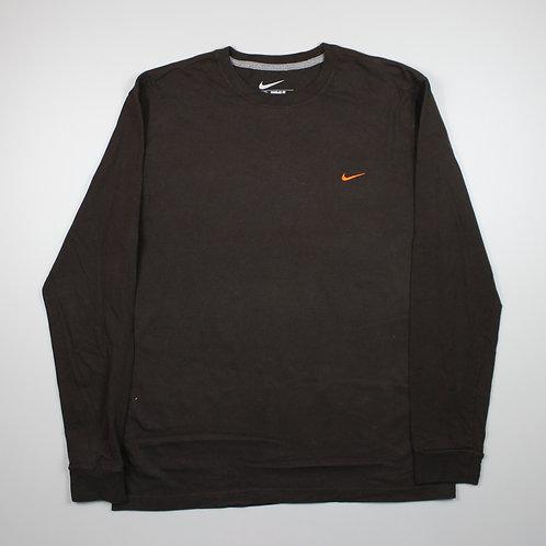 Nike Brown Long Sleeved Top