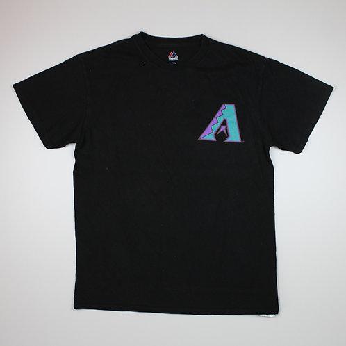 Majestic MLB 'A' Black T-shirt