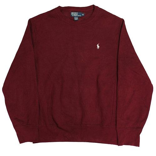 Ralph Lauren Maroon Sweatshirt