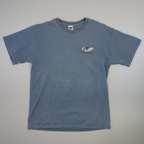 Vintage 'Flying Fisherman' Blue T-shirt