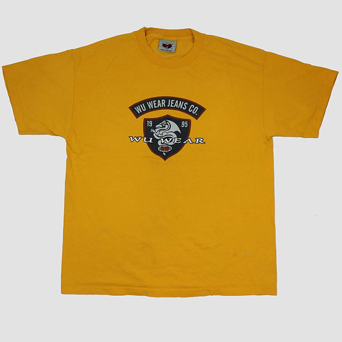 Wu Wear Jeans Yellow T-Shirt