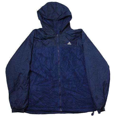 Adidas Navy Reversable Coat with Fleeced Liner