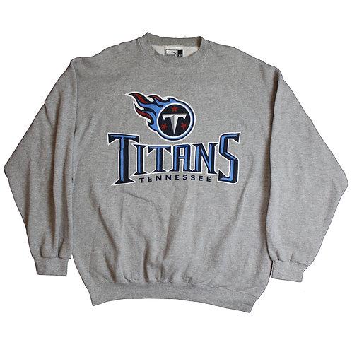 Puma Grey Tennessee Titans Sweater