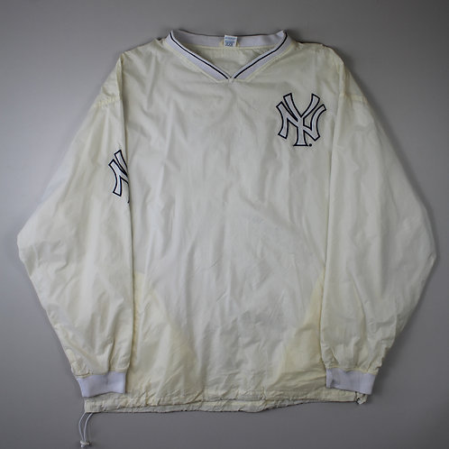 Russel Athletic NYY White Tracksuit Top