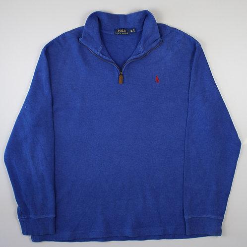 Ralph Lauren Blue 1/4 Zip Sweater