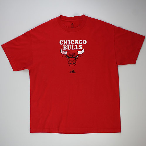 Adidas Chicago Bulls Red T-shirt
