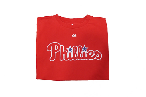 Vintage Red 'Phillies' T-Shirt