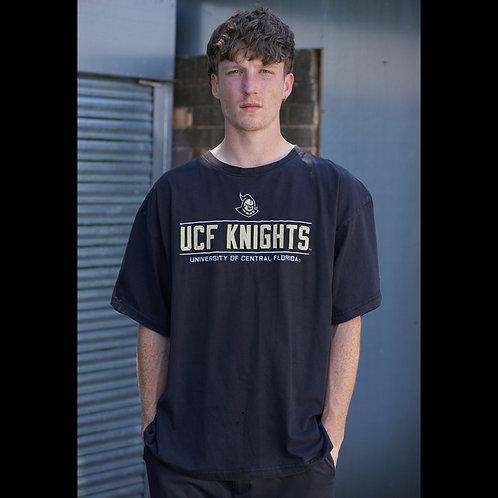 Champion Vintage Black UCF Knights TShirt