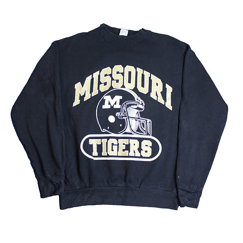 Vintage 'Missouri Tigers' Black Sweater