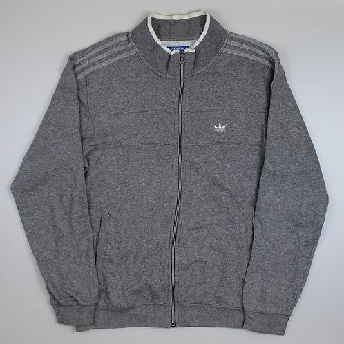 Adidas Grey Tracksuit Top