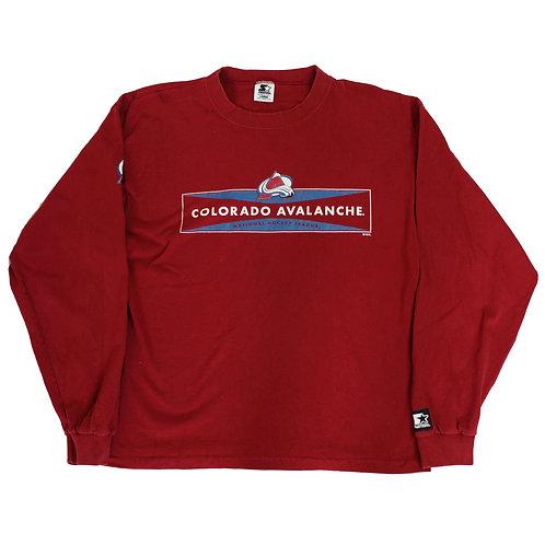 Starter 'Colorado Avalanche' Long Sleeved T-shirt