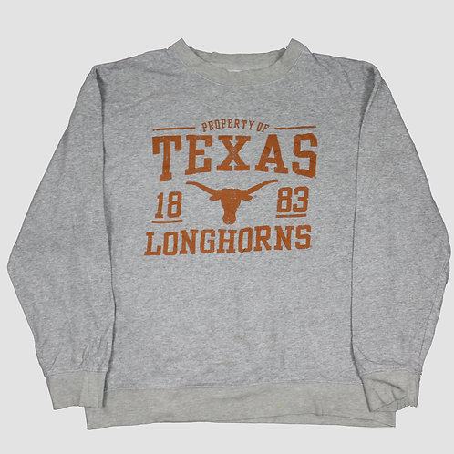 Russell Athletic 'Texas Longhorns' Grey Sweater