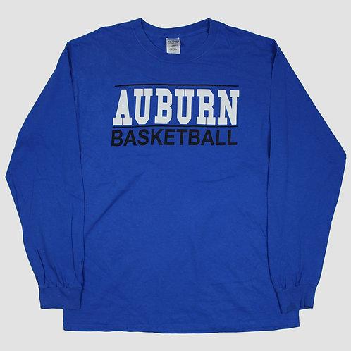 Vintage 'Auburn Basketball' Long Sleeved Top