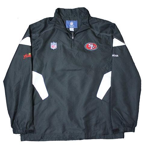 Reebok San Francisco 49ers NFL Tracksuit Top