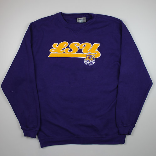 Vintage 'LSU' Purple Sweater