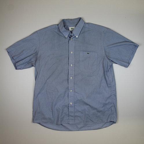 Lacoste Blue Short Sleeved Shirt