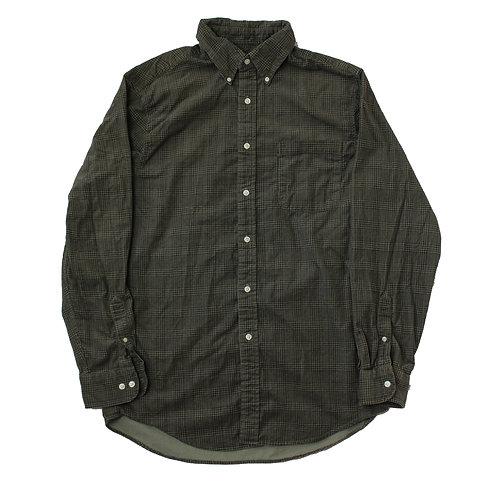 Vintage Brown Patterened Corduroy Shirt