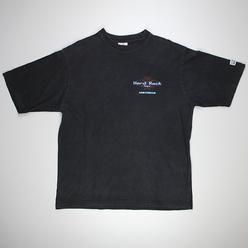 Hard Rock Cafe Black 'Amsterdam' T-Shirt
