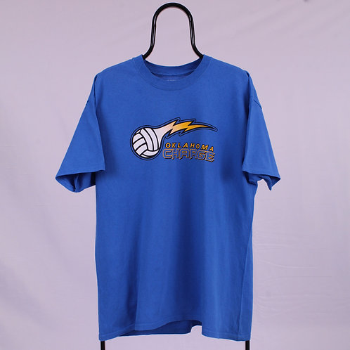 Vintage Blue Oklahoma Chargers TShirt