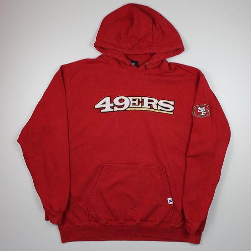 NFL San Francisco 49ers Red Hoodie