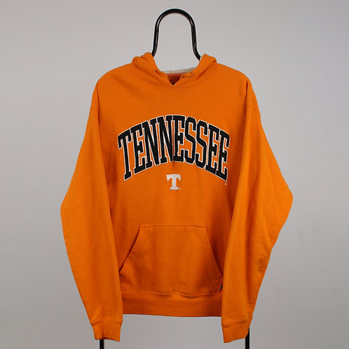 Vintage Orange Spell Out Tennessee Hoodie