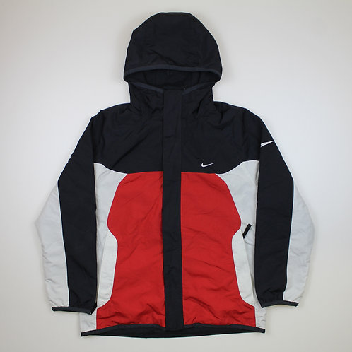 Nike Red, Grey & Black Reversible Coat