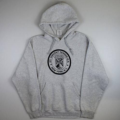 Vintage Grey 'Veritas' Hoodie