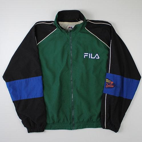 Fila Green Tracksuit Top