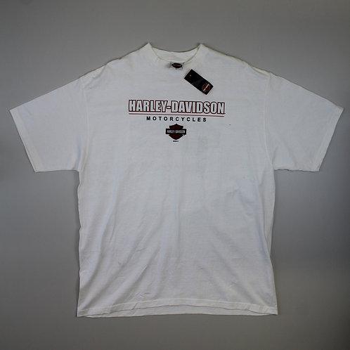 Harley Davidson White 'Vandervest' T-Shirt
