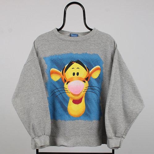 Disney Vintage Grey Tigger Graphic Sweatshirt