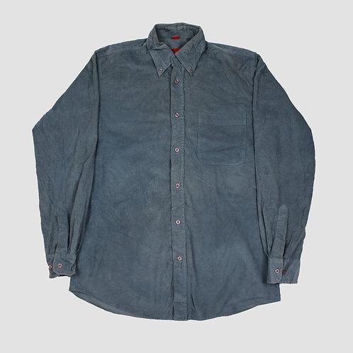 Vintage Blue Corduroy Shirt
