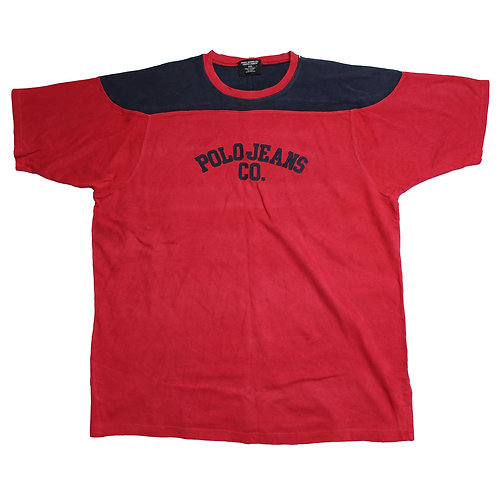 Ralph Lauren Red & Navy T-Shirt