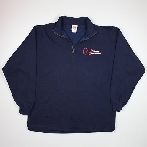 Hard Rock Cafe 'Hollywood' Navy Sweater