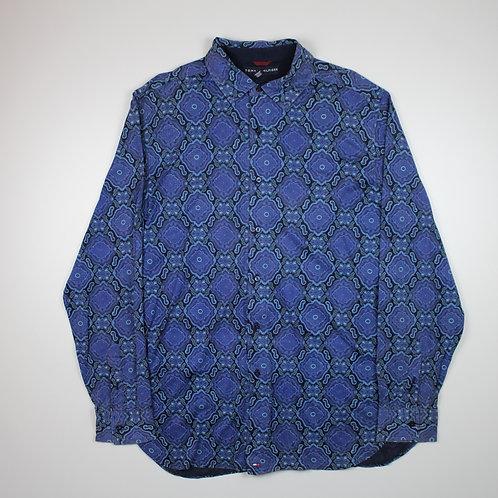 Tommy Hilfiger Blue Patterned Shirt