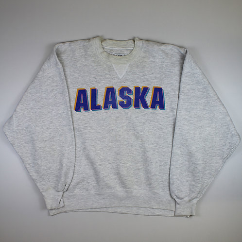 Vintage Grey 'Alaska' Sweatshirt