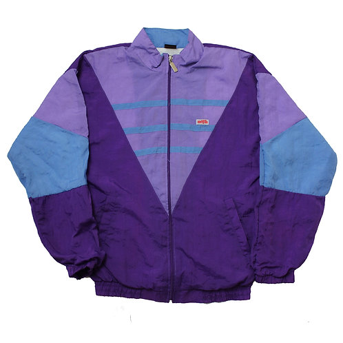 Vintage Purple Tracksuit Top