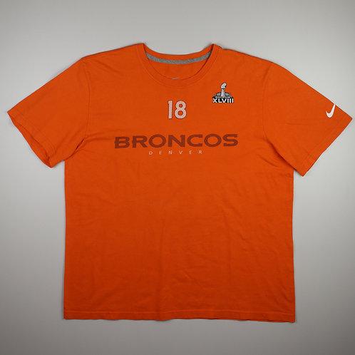 Nike 'Denver Broncos' Orange T-Shirt