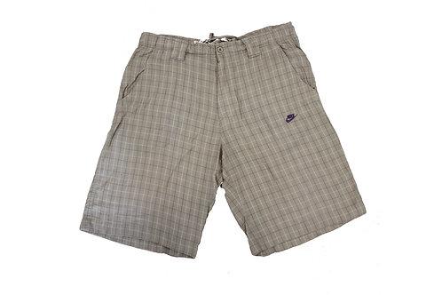 Nike Checkered Pattern Shorts
