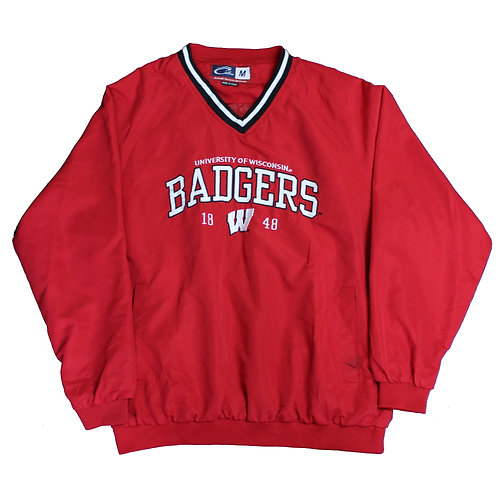Red 'Badgers' Tracksuit Top