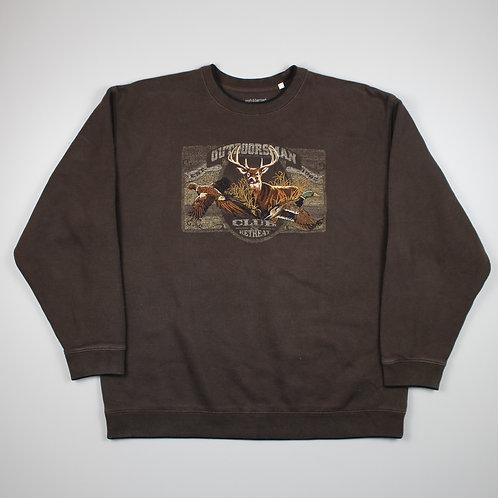 Vintage 'Deer' Brown Sweater