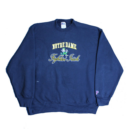 Pro Player 'Notre Dame' Navy Sweater