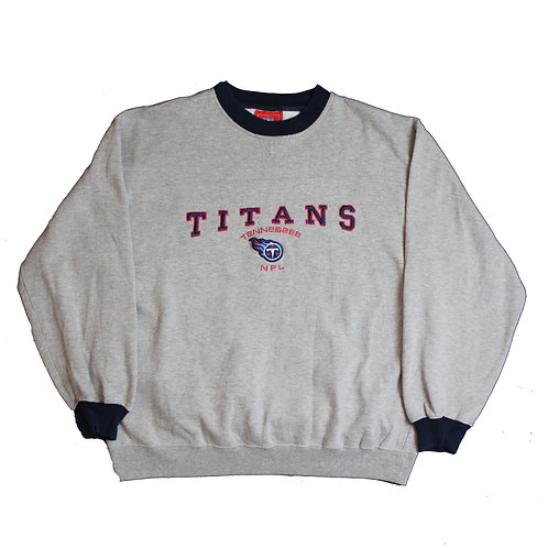 NFL Grey Tennessee Titans Sweater
