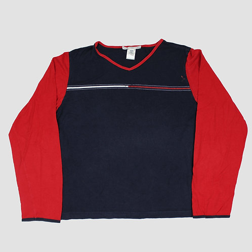 Tommy Hilfiger Red & Navy T-shirt